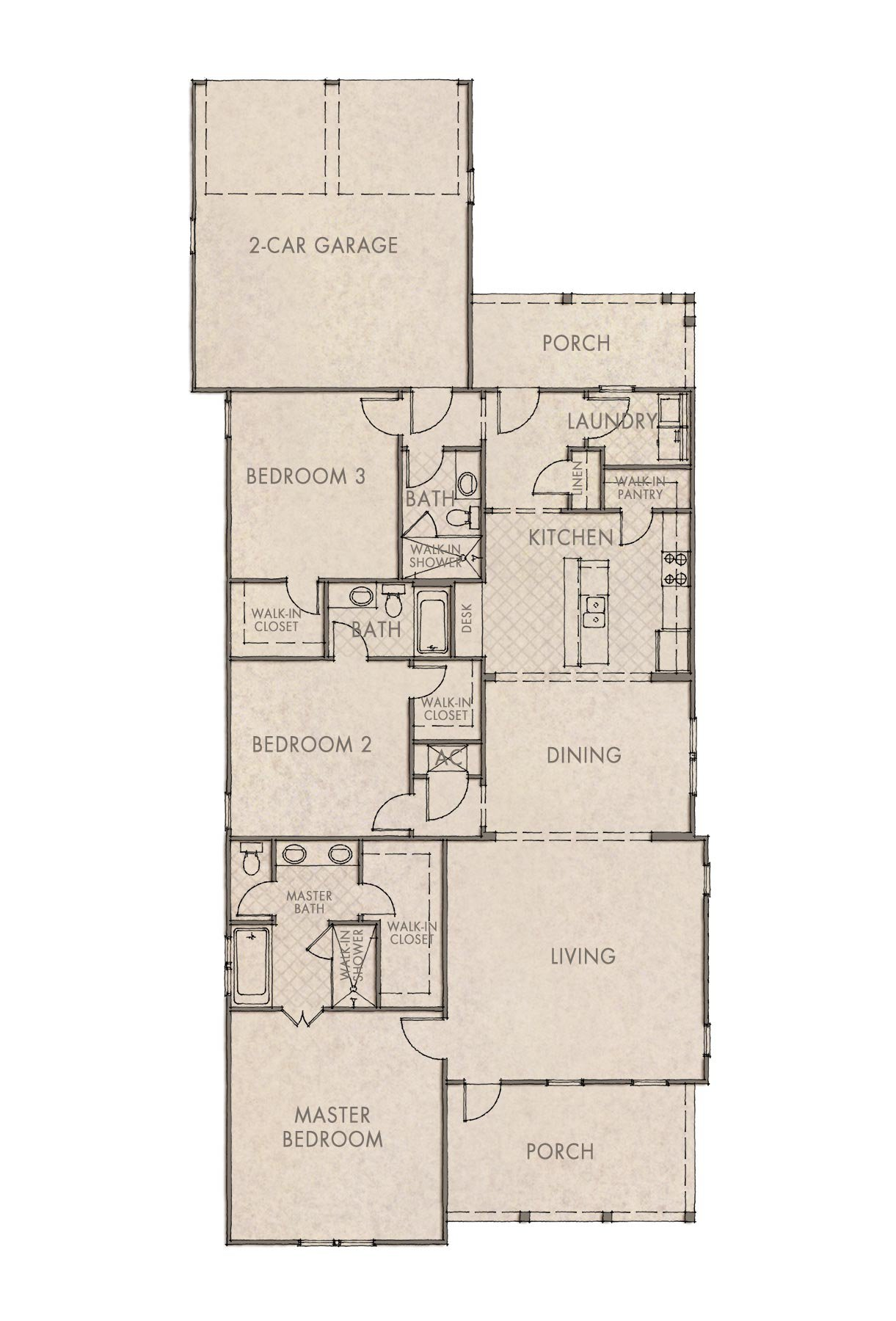 Bayberry Floorplan
