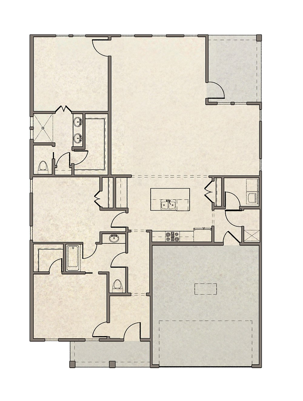 Beaux Floorplan