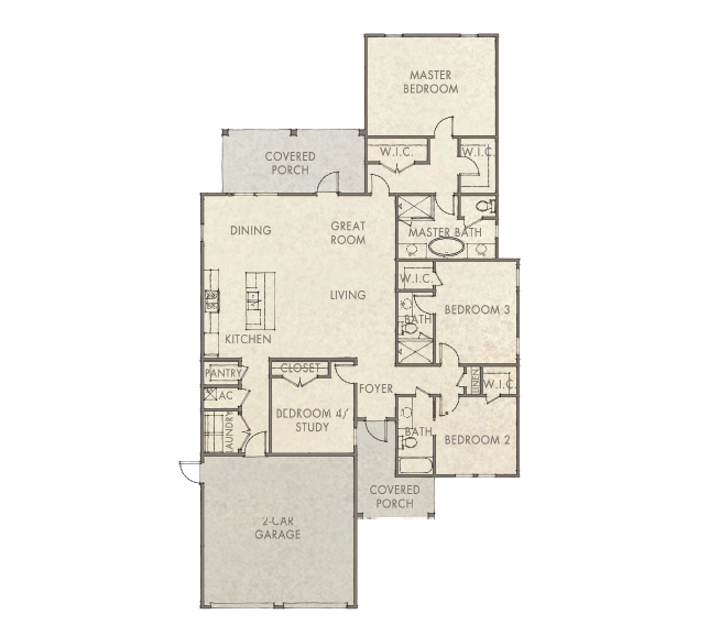 Waitsfield Floorplan