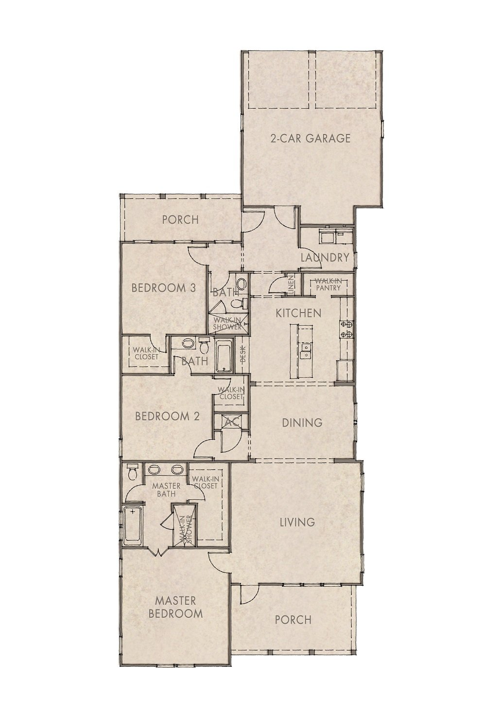 Begonia Floorplan